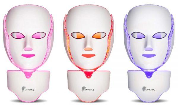 Maskens 3 lysfarger gir flere behandlingsindikasjoner. Som en individuell behandling eller som et supplement som forlenger og styrker i varierte behandlinger.