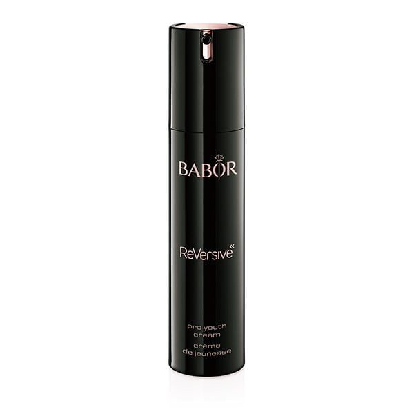 Babor ReVersive Pro Youth Cream er en svært effektiv ansiktskrem for å oppnå en ungdommelig utstråling og synlig stram, fastere og jevnere hudfarge. Huden får et smidig, intenst fuktet utseende. Huden blir raffinert, jevnere og mer strålende.