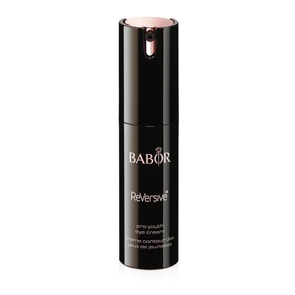 Babor ReVersive Pro Youth Eye Cream er en svært effektiv aktiverende øyekrem for å oppnå et ungdommelig strålende øyeområde. Huden etterlates raffinert, jevnere og mer strålende. For et forynget, perfeksjonert øyeområde og et vakkert utseende.