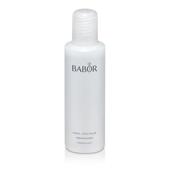 Babor AGE ID Nail Colour Remover er en mild neglelakkfjerner med ricinusolje og avokadoolje som beskytte neglene og neglebåndene når neglelakk fjernes.