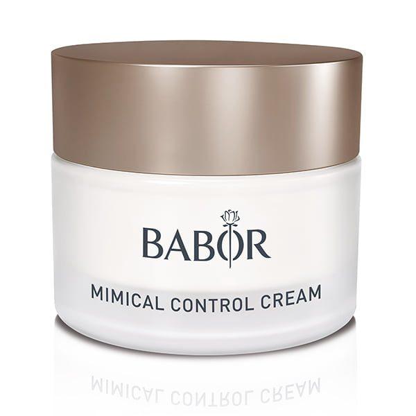 Babor Skinovage Classics Mimical Control Cream er en lett fuktighetsgivende krem som reduserer ekspresjonslinjer, letter mikrospenningen i huden og forhindrer miljøindusert aldring. Mimical Control Cream hjelper til med å jevne utseendet til uttrykkslinjer.