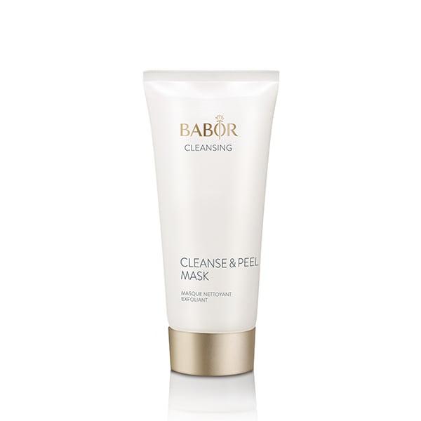 Babor Cleansing Cleanse & Peel Mask er en dyp pore rensemaske med Salisylsyre som gir en eksfolierende effekt og hjelper dyprensing av huden, samt Kaolin som reduserer glansen og matiserer huden – provitamin B5 hjelper til å støtte hudens naturlige barriere og renser huden dypt og raffinerer hudfargen som gir den et friskt og rent utseende.