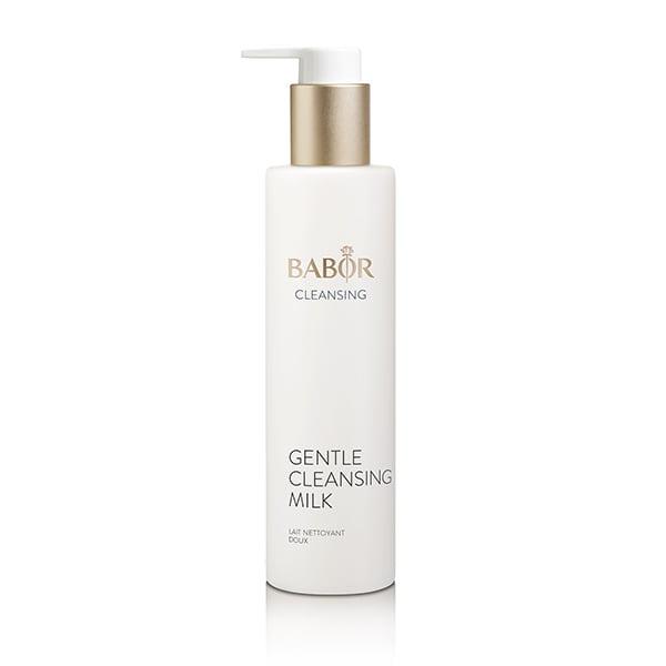 Babor Gentle Cleansing Milk inneholder utvalgte aktive, anti-stress ingredienser som bisabolol og ingefær hjelper til med å roe huden, selv når du renser.