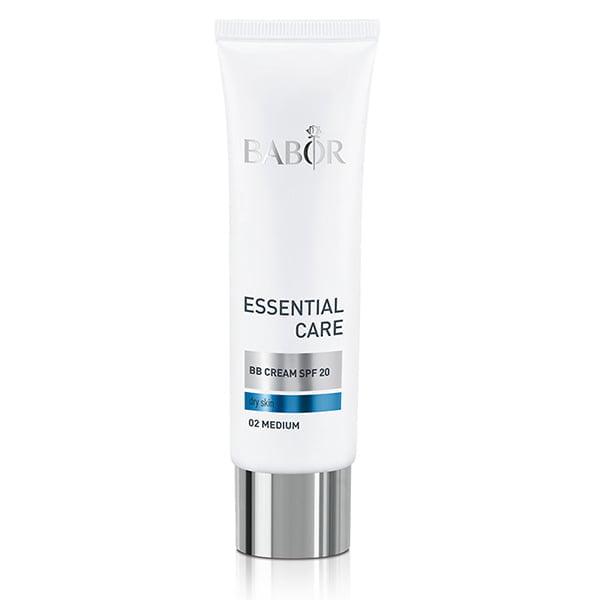 Babor Essential Care BB Cream er en myk tonet ansiktskrem med SPF 20 for daglig hudpleie og etterlater en rosenrød, frisk og jevn hudfarge.