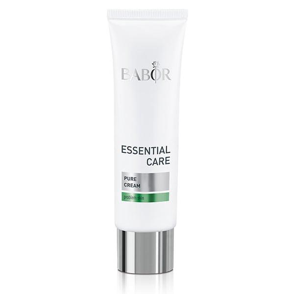 Babor Essential Care Pure Cream er en lett ansiktspleiekrem som renser uren hud og gir en uthvilt hudfarge.