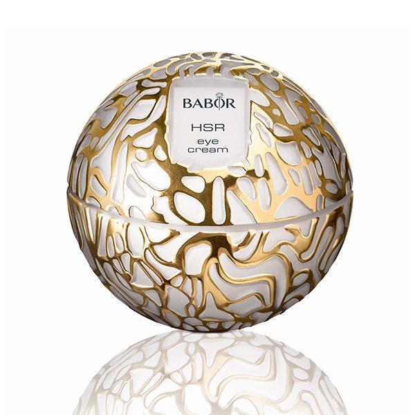 Babor HSR Lifting Eye Cream arbeider for å motvirke utseendet på rynker, inkludert uttrykks- og gravitasjonslinjer, mens de forbedrer fasthet og elastisitet.