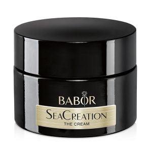 Babor SeaCreation The Cream er en luksuriøs anti-aging ansiktskrem for alle hudtyper. SeaCreation beskytter mot for tidlig aldring av huden, fremmer aldrende hudfunksjoner og reduserer eksisterende aldringstegn. Huden virker fastere, glattere og ungdommelig frisk.