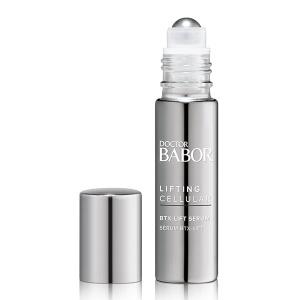 Doctor Babor Lifting Cellular BTX-Lift Serum behandler uttrykkslinjer som kråkeføtter, pannefurer, rynkelinjer, nasolabiale folder eller marionettlinjer og gir ansiktsegenskaper et jevnere og mer avslappet utseende.