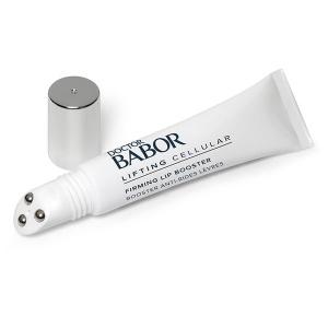Doctor Babor Lifting Cellular Firming Lip Booster behandler vertikale linjer rundt munnen og en uregelmessig leppekontur som reduserer synlig dybden på leppelinjer og linjer rundt munnen og forbedrer leppevolumet og resulterer i et godt definert leppeområde og fyldigere, yngre utseende lepper.
