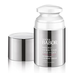 Doctor Babor Neuro Sensitive Cellular Intensive Calming Cream er en spesiell krem for ekstrem tørr, sensitiv hud som også kan brukes som en støttende hudpleiebehandling mot nevrodermitt (atopisk eksem) i løpet av symptomfrie intervaller.