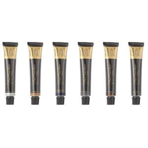 Fred Hamelten Power Infusion vippefarge i 6 farger har et nytt formula med fantastiske egenskaper – fargeresultatet er ekstremt holdbart og gir økt fylde til brynene. Fargen er rik på pigmenter og gir et naturlig fargeresultat. Produktene er drøye i bruk og dekker grå hår meget godt (spesielt ved bruk av fargenyansen Rich Black).