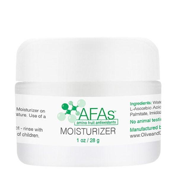 AFAs Daily Hydration Moisturizer er bra for normal til tørr og sensitiv hud. AFA Moisturizer er basert på en emulsjon som har blitt brukt i flere tiår som en hudlege-godkjent aktuell kjøretøy for medisinsk behandling og rehydrerer huden samtidig som den hjelper til med å opprettholde fuktighetsbalansen for en jevn, silkeaktig struktur. AFA Moisturizer er formulert til daglig bruk. Denne fuktighetskremen er forsterket med vår patenterte blanding av aminobaserte filaggrin-antioksidanter for å forynge, lysne og berolige hudfargen.