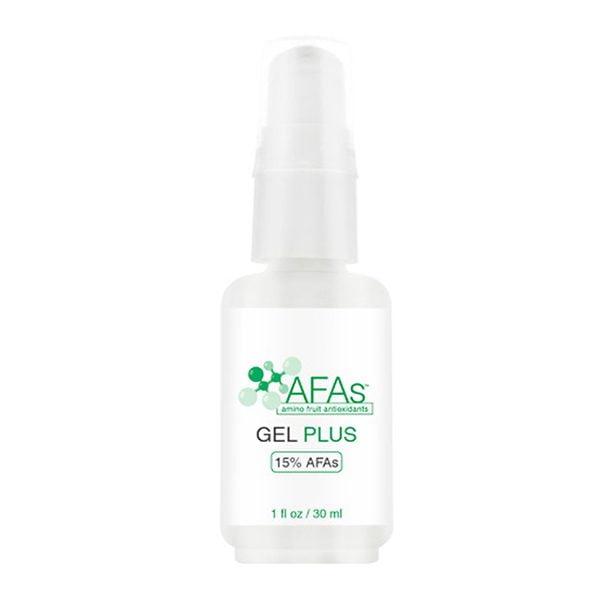 AFAs Graduated Treatments Gel Plus er en skånsom peeling som forbedrer pigmentering og generell tone og tekstur og gir kollagenstøtte – bra for de fleste hudtyper.