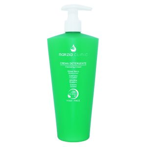 Marzia Clinic Beautyfood Cleansing Cream er en booster av naturlige ingredienser som beskytter, renser forsiktig og omslutter huden i en myk kos – ideell for de mest følsomme hudtyper og gir en skånsom og nærende handling.