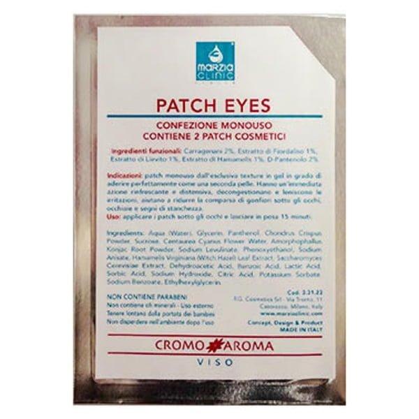 Marzia Clinic Eye Patches Hydrogel øyekonturlapper reduser tegnene på tretthet og gir øyet konturens lysstyrke og friskhet på noen få minutter.
