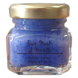 Marzia Clinic Fruit Mask with Blueberry er en beroligende maske med Jojoba mikrosfærer. Nå kan du glede deg over en SPA-behandling hjemme Tre handlinger i ett produkt: jojoba-mikroperler løfter urenheter og døde celler fra hudoverflaten; synergien mellom frisk fruktjuice og fargeterapi forbedrer produktets effektivitet; Fyto-endorfiner gir deg en hyggelig velværefølelse.