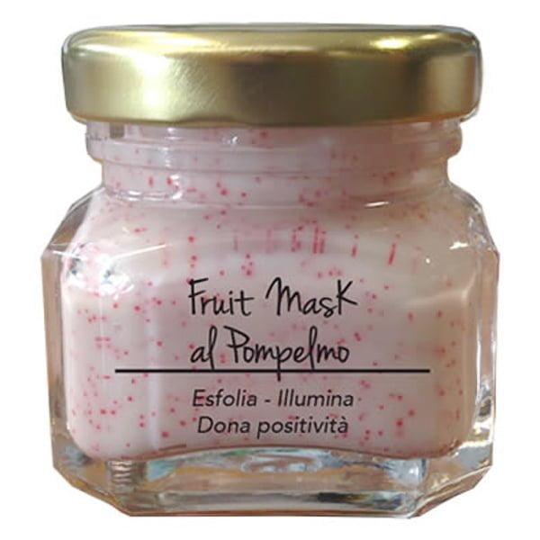 Marzia Clinic Fruit Mask with Grapefruit er en lysere maske med Jojoba mikrosfærer. Nå kan du glede deg over en SPA-behandling hjemme. Tre handlinger i ett produkt: jojoba-mikroperler løfter urenheter og døde celler fra hudoverflaten; synergien mellom frisk fruktjuice og fargeterapi forbedrer produktets effektivitet; Fyto-endorfiner gir deg en hyggelig velværefølelse.