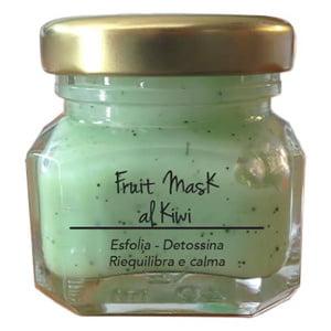 Marzia Clinic Fruit Mask with Kiwi er en avgiftende maske med Jojoba mikrosfærer. Nå du kan glede deg over en SPA-behandling hjemme! Tre handlinger i ett produkt: jojoba-mikroperler løfter urenheter og døde celler fra hudoverflaten; synergien mellom frisk fruktjuice og fargeterapi forbedrer produktets effektivitet; Fyto-endorfiner gir deg en hyggelig velværefølelse.