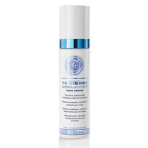Tebiskin Cera-Boost Face Cream er et spesifikt produkt for ansiktet med en effektiv mykgjørende, nærende og fuktighetsgivende handling. Det er indikert i alle tilfeller av tørrhet i huden, inkludert flassing, ofte på grunn av tap av hudens barrierefunksjoner. Kremen er rik og kremet, absorberes lett og etterlater ingen spor som klissethet eller fettighet etter påføring.