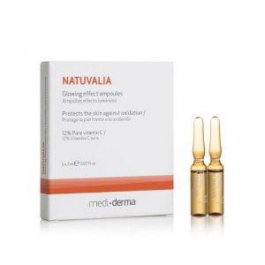 Mediderma Natuvalia Glowing Effect Ampoules – 5 x 2 ml
