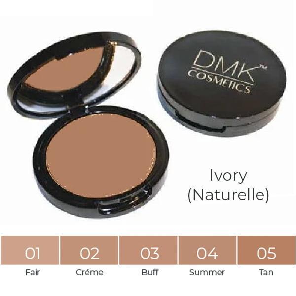 DMK Cosmetics Foundations Naturelle Series består av fem farger som er helt nøytrale i balansen mellom oliven og rødete hudtoner. Naturelle-serien kjører fra lett til dyp og er den perfekte matchen for bleke eller kaukasiske hudtyper med korallundertoner.