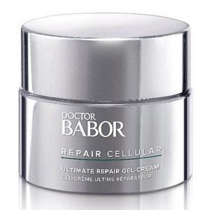 Doctor Babor Repair Cellular Ultimate Repair Gel-Cream er en lett gel-krem for ansiktsbehandling som intensivt støtter hudens regenerering, og stimulerer huden slik at den regenererer raskere og hudfargen er synlig raffinert. Tester bekrefter at Ultimate Repair Gel-Cream også er ideell for postoperativ pleie av huden så vel som for komplementær pleie av hudområder som arr og brannskader som krever behandling, noe som resulterer i en jevnere, regenererende hudfarge.