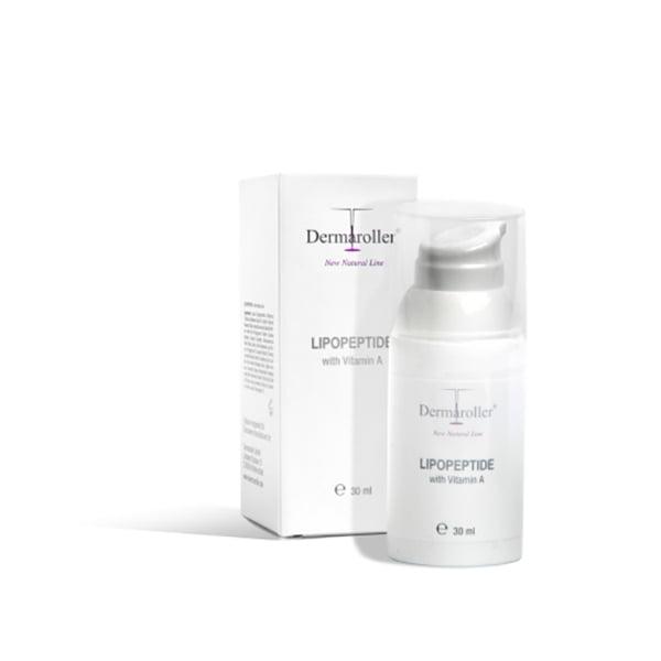 Dermaroller Natural Line Lipopeptide Booster – stimulerende serum til hjemmebruk med C8 hjemmeruller og etter behandling. Innhold: 30 ml