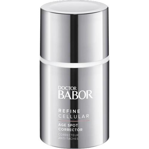 Doctor Babor Refine Cellular Age Spot Corrector er et rikt serum designet for effektivt å korrigere utseendet på eksisterende misfarging av huden.