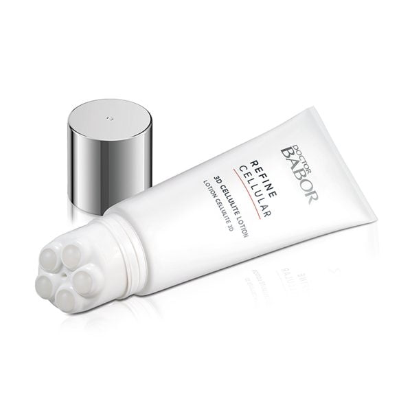 Doctor Babor Refine Cellular 3D Cellulite Lotion er en høyvirksom, aktiverende lotion med tre-dimensjonal effekt på hudvevet som gjør cellulitten mindre synlig.