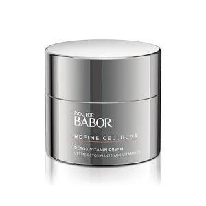 Doctor Babor Refine Cellular Detox Vitamin Cream for trøtt, jaded hud fremmer fornyelse av huden og beskytte mot miljøindusert aldring av huden.