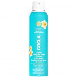 Classic SPF 30 Body Spray Piña Colada er en transparent, vann- og svetteresistent kroppsmist som beskytter huden mot UV-stråler samtidig som den pleier huden. Den er også rik på antioksidanter som beskytter mot frie radikaler. Mild og enkel å bruke, passer for alle hudtyper. Har en mild duft av Piña Colada. UV-beskyttelse med SPF 30 i sprayform. Vannresistent formulering. Inneholder pleiende og beskyttende ingredienser.
